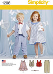 Toddlers Trousers, Vest, Dress, Bow-Tie and Belt