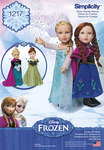 Frozen Costumes for 18 inches Doll