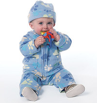 Butterick 6238. Infants Jacket, Overalls, Pants, Bunting and Hat.