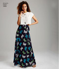 Misses Wide Leg Trousers or Shorts and Skirts in 2 Lengths