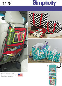 Totes and Organizers. Simplicity 1128.