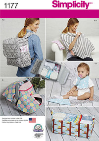 Accessories for Babies. Simplicity 1177.