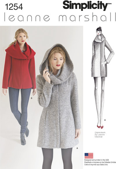 Misses´ Leanne Marshall Easy Lined Coat or Jacket