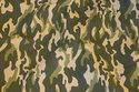 Baby corduroy in camouflage-pattern