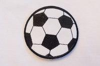 Black football 6.5 cm