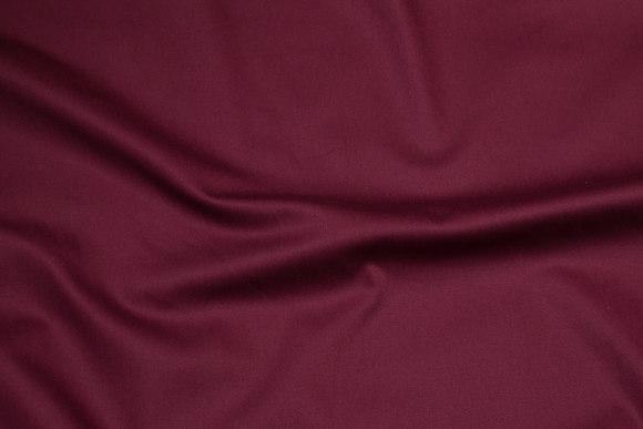 Bordeaux cotton-stretch-satin for pants etc.