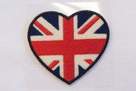 British heart 6 x 6 cm