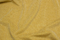 Lightweight lurex-jersey in gold-color