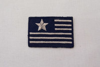 Signalflagpatch 2.5 x 4 cm