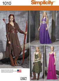 Misses´ Fantasy Costumes. Simplicity 1010.