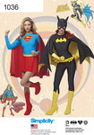 Simplicity 1036. Superwoman, Batwoman.