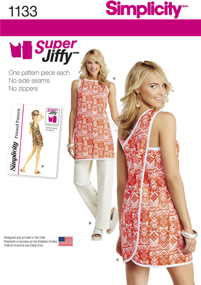 Misses´ Super Jiffy Tunic and Trousers
