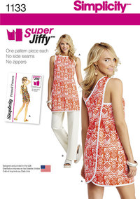 Misses´ Super Jiffy Tunic and Trousers. Simplicity 1133.