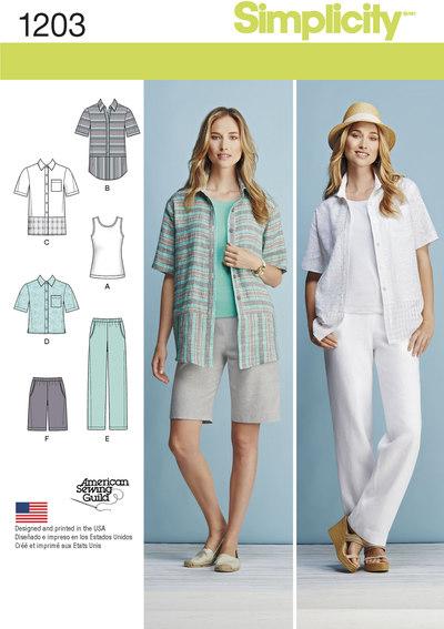 Misses´ and Women´s Sportswear Pattern