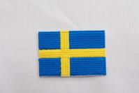 Swedish flag patch 3.5 x 5 cm