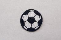 Tiny football black 3.5 cm