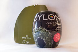 Dylon dye olive green