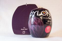 Dylon dye Plum red