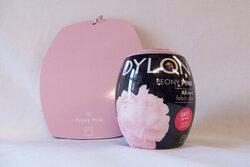 Dylon dye peony pink