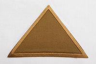 Triangle brown 8 x 11 cm