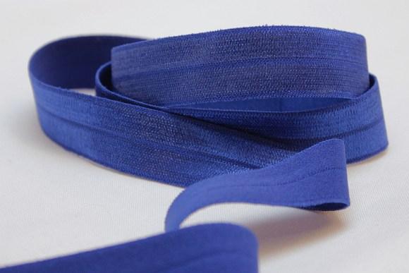 Elastic bias, cobolt blue