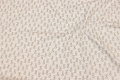 Speckled, light grey cotton-jersey with small dogs