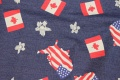 Flag is ca. 4 x 5cm.