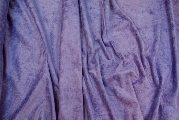 Furniture velour in fresh purple