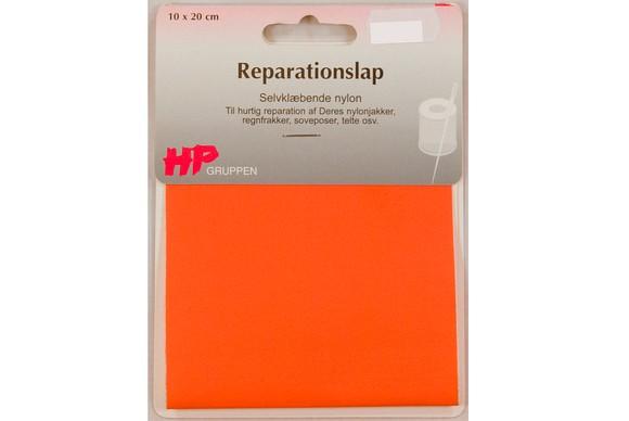 Bright-orange nylon repair patch 10 x 20 cm
