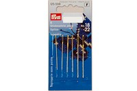 Embroidery needles with point, 6 pcs, no. 18-24.