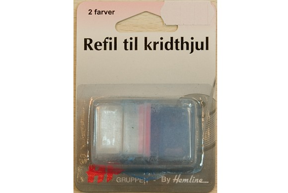 Refill for chalkwheel