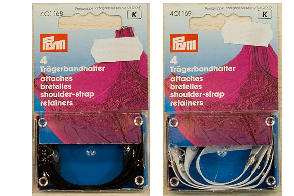 Shoulderstrap retainers