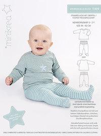 Jumpypants and blouse. Minikrea 11409.