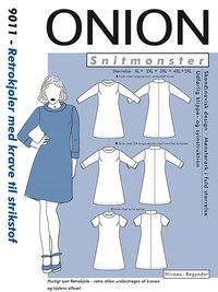 Retro dress with collar. Onion 9011.