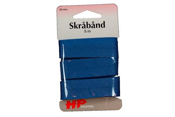Bias binding in dark blue, 5 meters