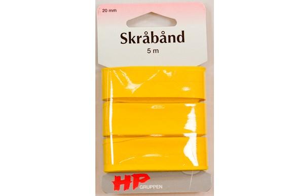 Bias binding in yellow, 5 meters