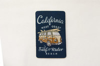 California surf rider patch 6x4cm