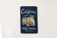 California surf rider patch 6x4cm