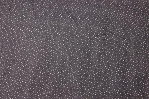 Charcoal baby corduroy with small light grey mini stars