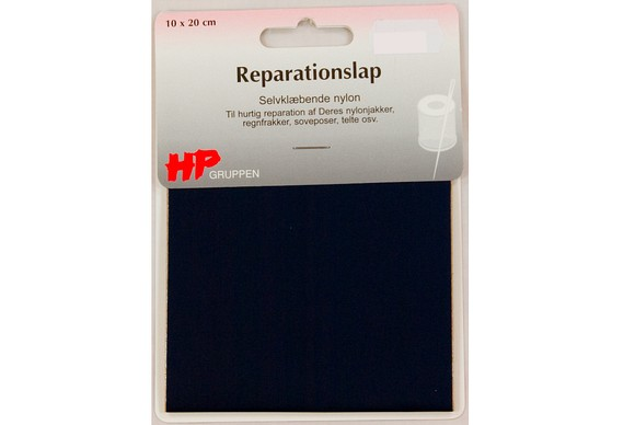 Dark blue nylon repair patch 10 x 20 cm