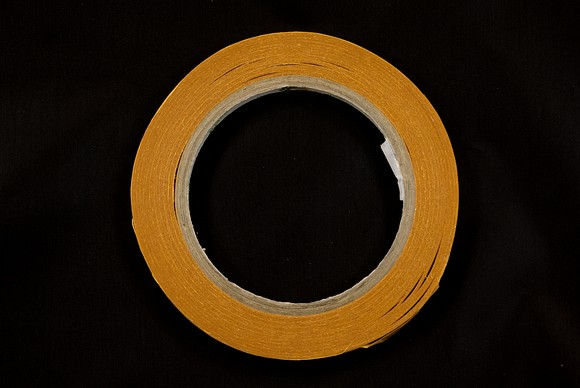 Dobbel adhesive tape 1 cm wide, 25 meters