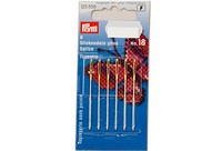 Embroidery needles with point, 6 pcs, no. 18