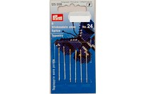 Embroidery needles with point, 6 pcs, no. 24