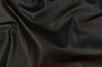 Faux hide in black