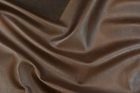 Faux hide in dark brown
