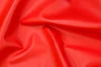 Faux hide in ferrari-red