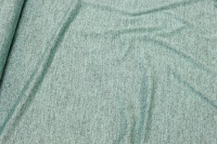 Lightweight, mint-green knit with lurex glitter