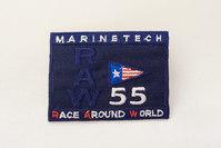 Marine tech navy patch 6x5cm