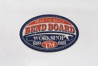 Ovalt Bend board patch 7 x 4 cm