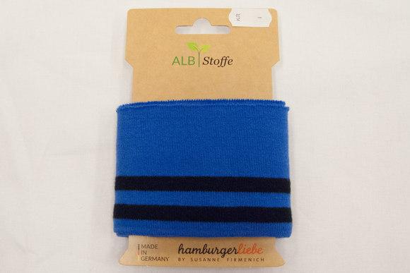 Rib blue and black